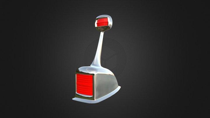 boat fore navigation light 3D Model
