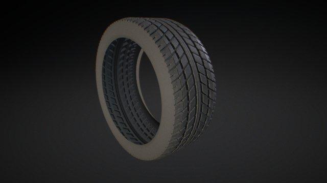 Tire tread 3D Model