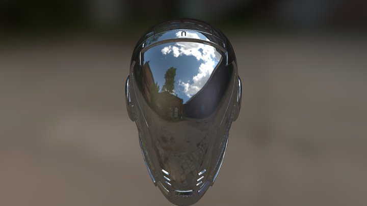 Gabe's Helm of Peace and Prosperity 3D Model