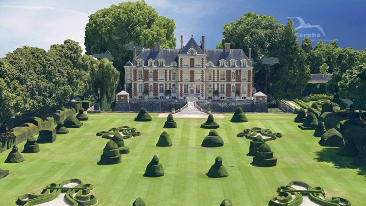 Chateau de Wideville 3D Model