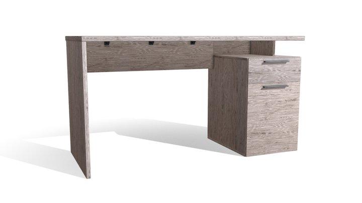 Office Desk 140x60 3D Model