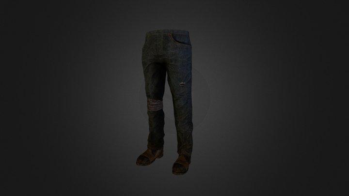 Pants Study 3D Model