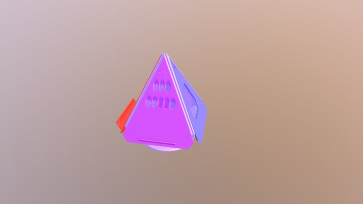 Prism P7 - Demo Model (With Dock Faces) 3D Model