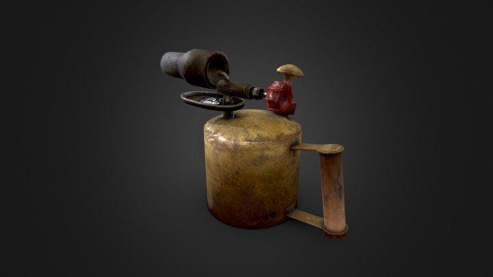 Blowlamp - Game-ready asset 3D Model