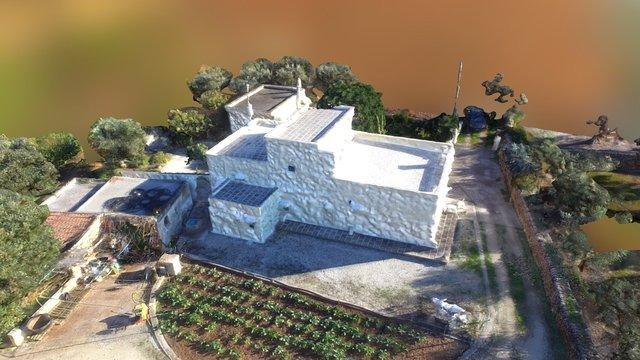 Cottage in Apulia 3D Model