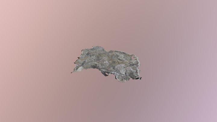 Utahraptor Block 2 27 19 3D Model