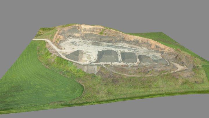 Bond Butte Quarry - April 2017 3D Model