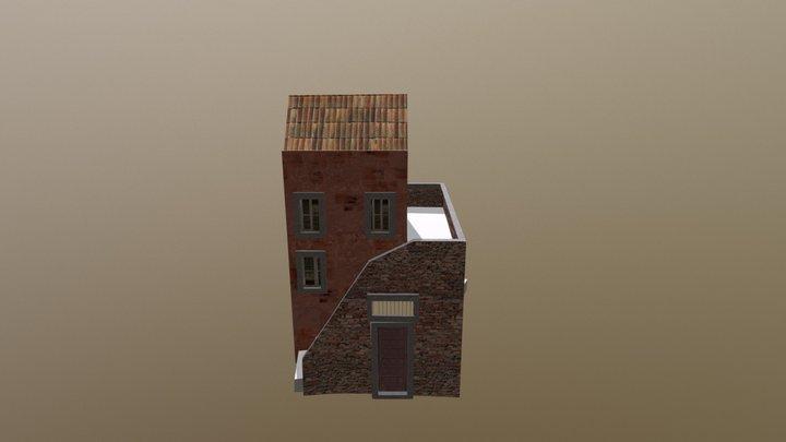 Italian House 3D Model