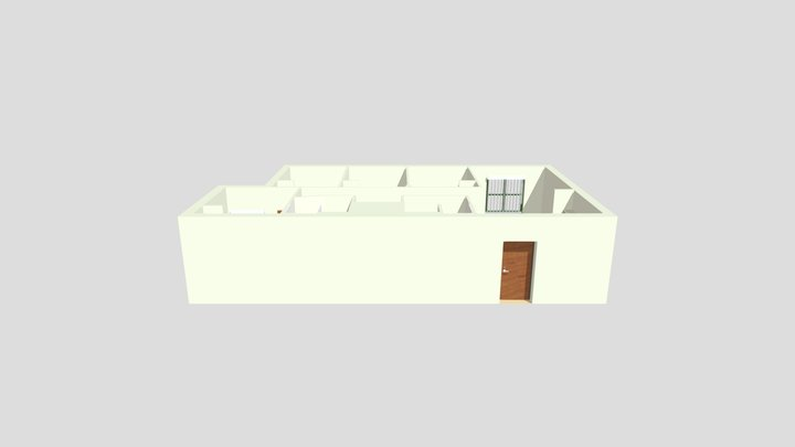 Holly Apartments 3D Model