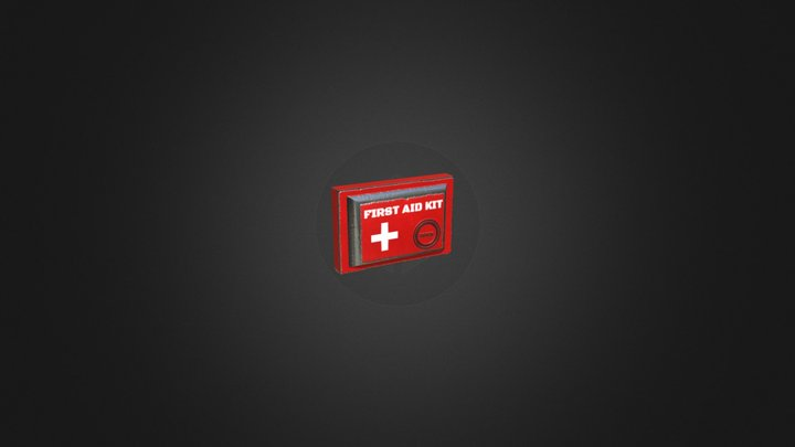 Prop - Scifi First Aid Kit 3D Model