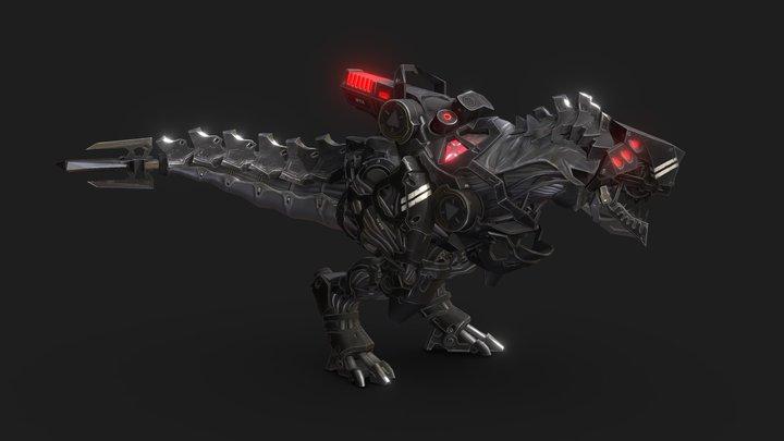 Tyrannosaur Mech 3D Model