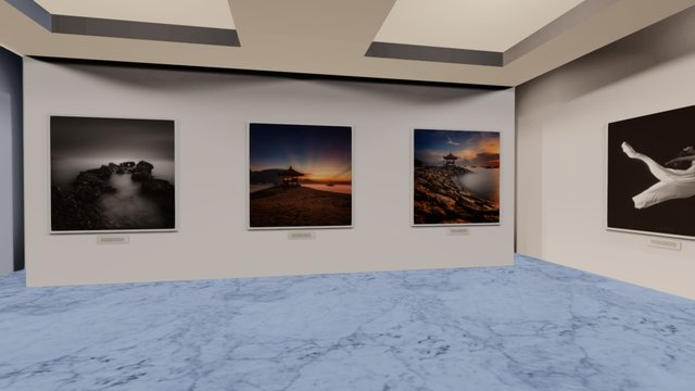 Instamuseum for @ahastono 3D Model