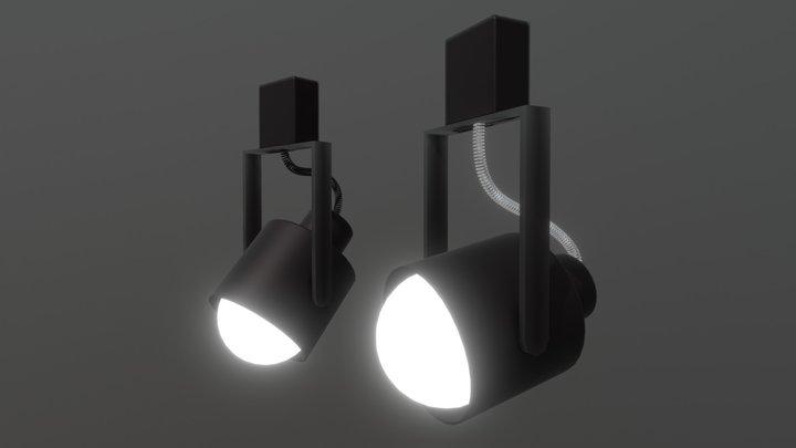 Rail Light 3D Model