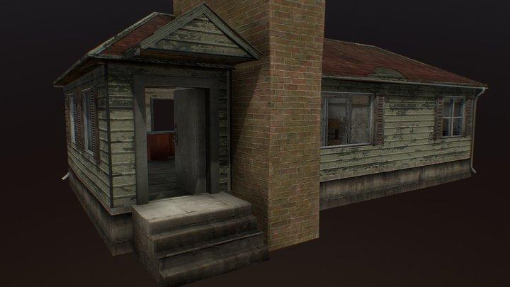 Town Building 02 3D Model