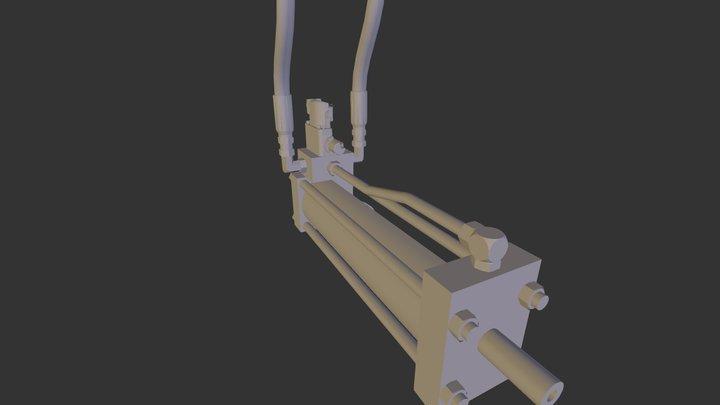 Temposonic 3D Model