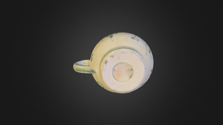 Candle Dish 3D Model