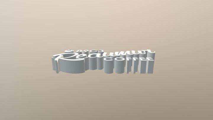 Fab Lab Logo 3D Model