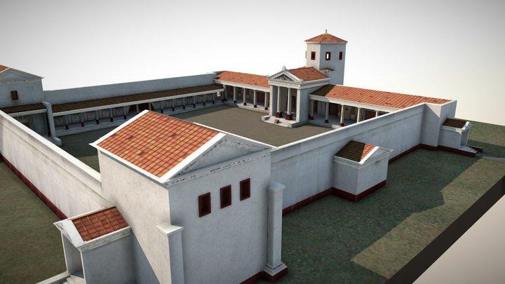 Temple du Haut-Bécherel 3D Model