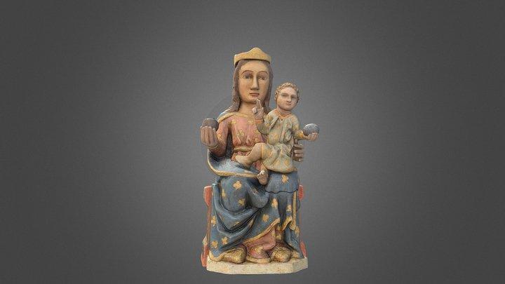 Mare de Déu de la Salut. Restaurada 3D Model