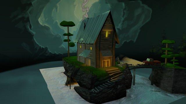 The Cabin II 3D Model
