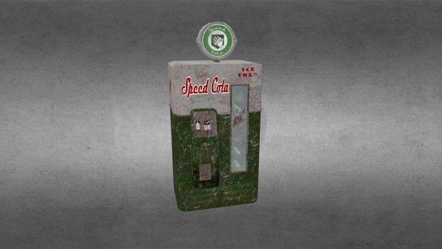 Speed Cola Machine - World at War 3D Model