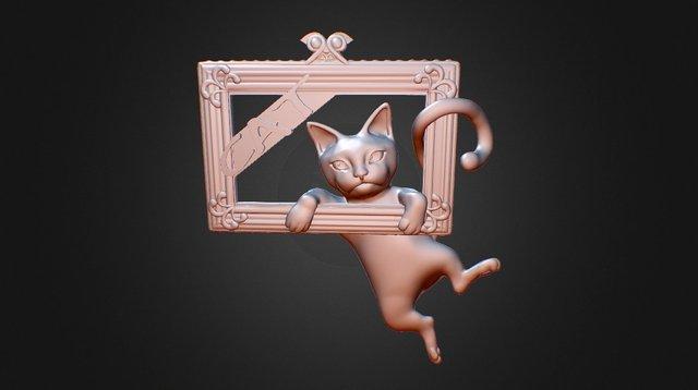 Mona Cat - Featured exclusive cat 3D Model