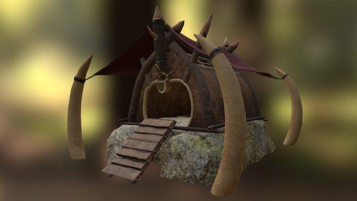 Orcs Settlement - House 3D Model