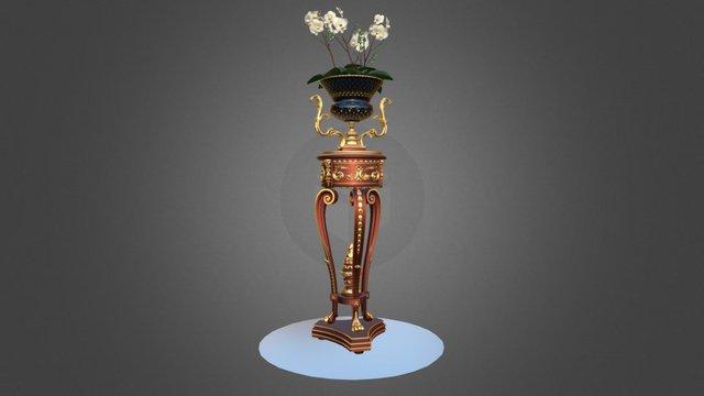 Modenese Gastone Vase 3D Model