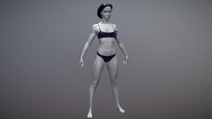 Female Basemesh 07 3D Model