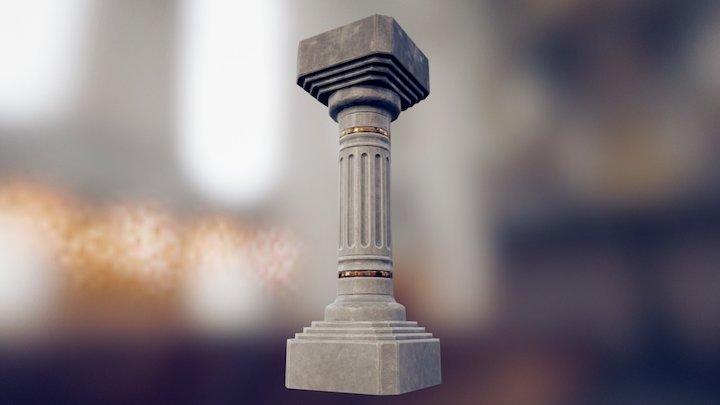 Pillar01 3D Model