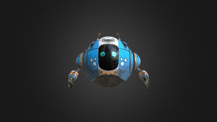 Drivers Maintenance Droid 3D Model