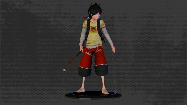 Lok Anime Avatar 3D Model