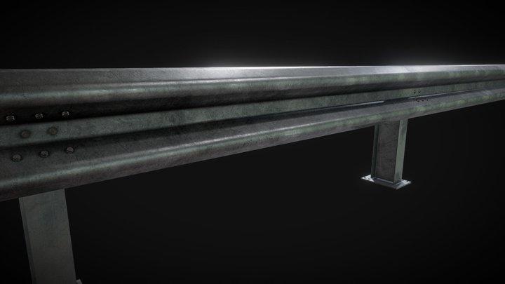 guardrail asset 3D Model