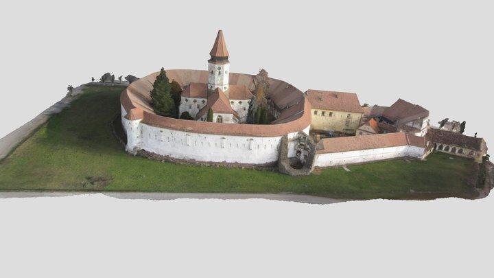 Prejmer fortified church in Transylvania- by FAE 3D Model