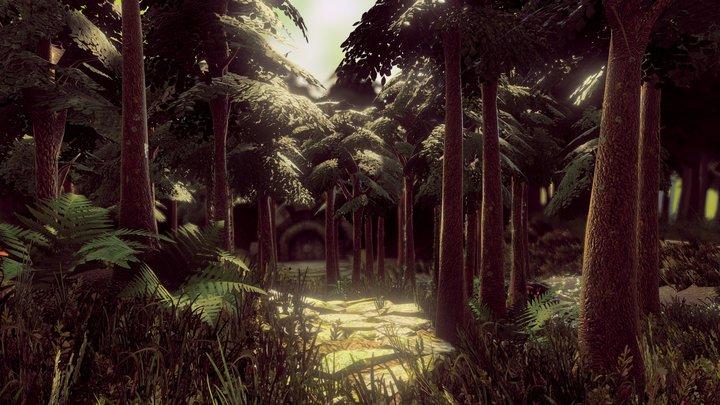 Mystic Forest 3D Model