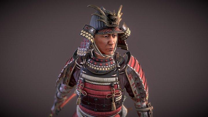 Maple Samurai 3D Model