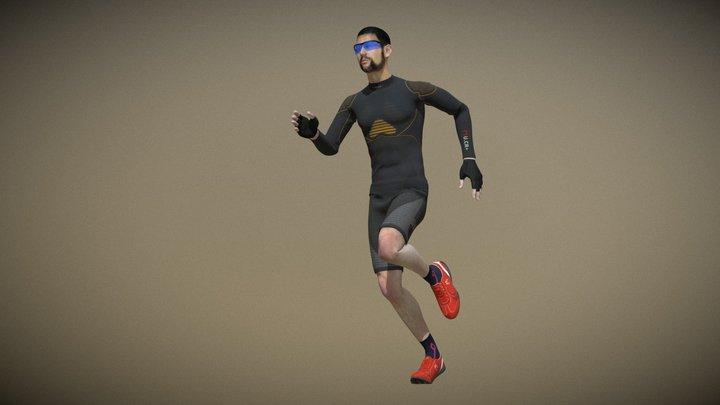 U.CR+ POWER RUNNING MAN 3D Model