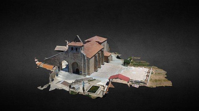 Ayoó de Vidriales Iglesia Julio 2016 3D Model