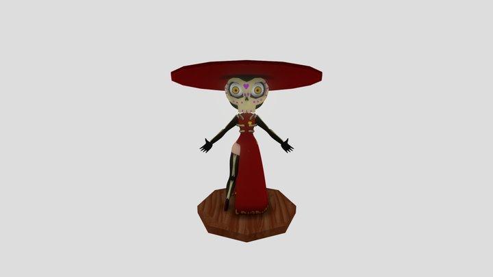 Catrina 3D Model