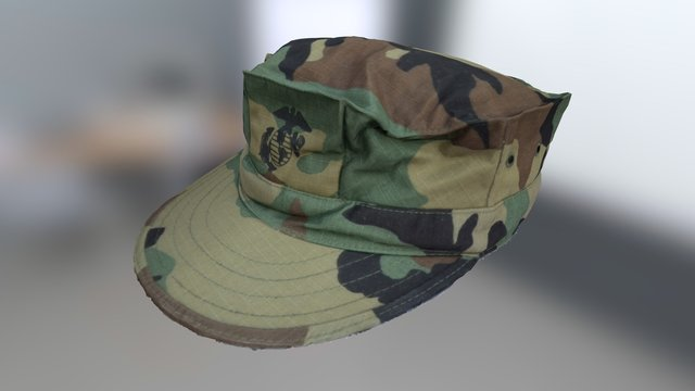 Marine Cap 3D Model