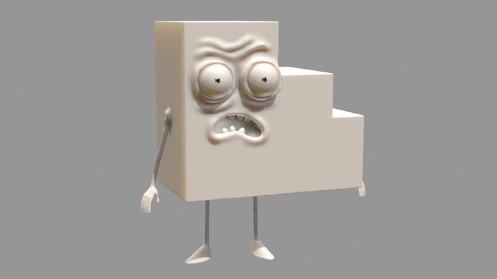 SculptJanuary 2018 - Disgust 3D Model