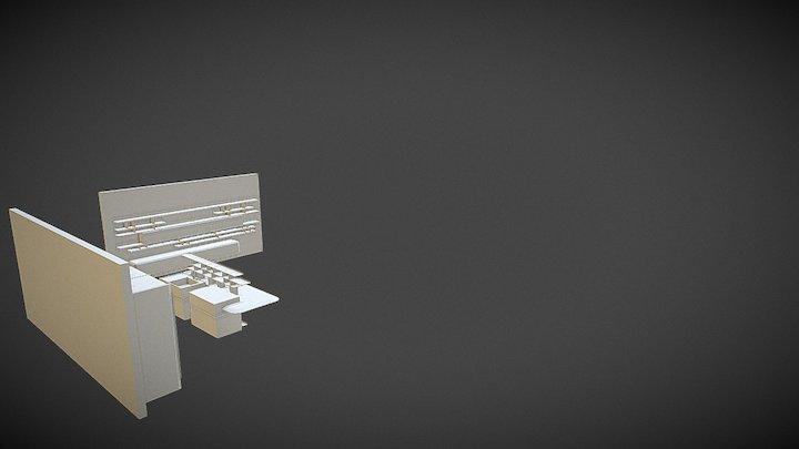 composizione 1   luxe 3D Model