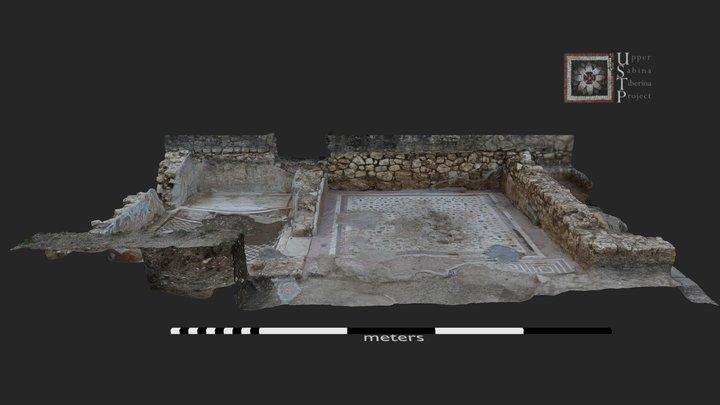 Roman Villa of Vacone: Rooms 10 and 20 3D Model