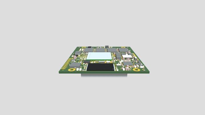 phyFLEX-i MX6 (PFL-A-02) 3D Model