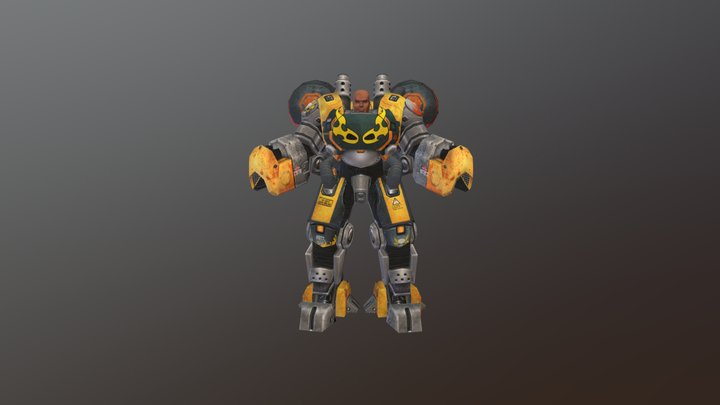 Tribes Vengeance Jericho 3D Model