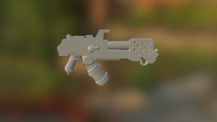 огнемет 3D Model