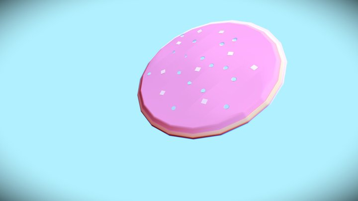 Sugar Cookie 3D Model