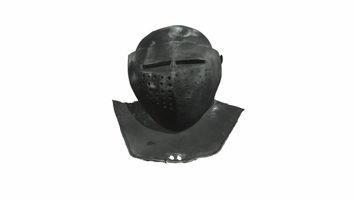 Armet 3D Model
