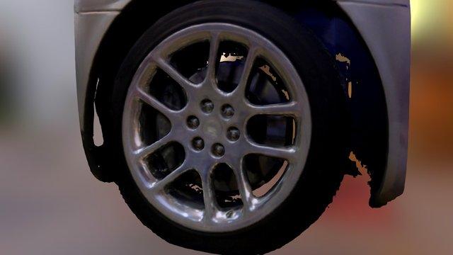 Viper Wheel 3D Model