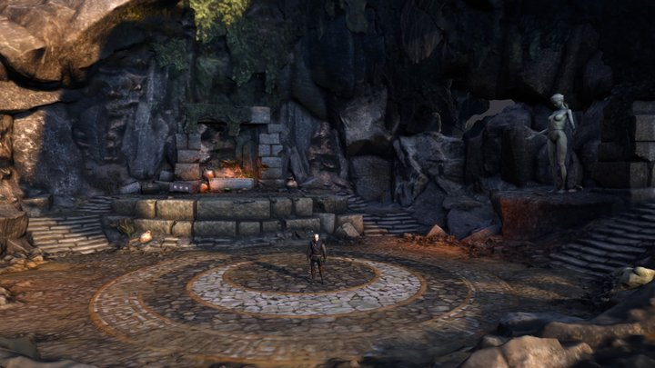 Witcher 3 Temple of Lilvani 3D Model